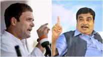 Rahul working on Mahatma Gandhi's dream of dissolving Congress: Nitin Gadkari