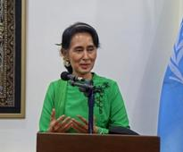 Myanmar's Suu Kyi kicks off peace conference with appeal for unity