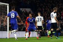 Antonio Conte hails reborn Pedro after Chelsea beat Tottenham Hotspur