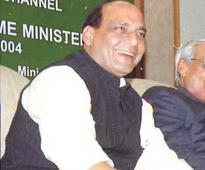 Bihar BJP leaders meet Rajnath Singh