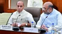 Rajnath Singh briefs opposition leaders about surgical strikes