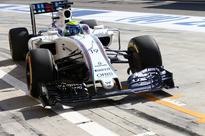 Symonds enjoying three-tyre challenge