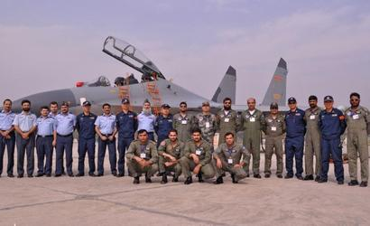 In a first, Chinese, Pakistani pilots jointly fly jets in combat drills