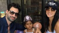 See pics: Sunny Leone and husband Daniel Weber celebrate daughter Nisha Kaur's birthday in Disneyland