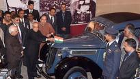 Kolkata: Car used by Netaji for his Great Escape unveiled by President Mukherjee