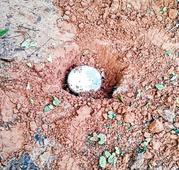 Explosive haul in Kishan terrain