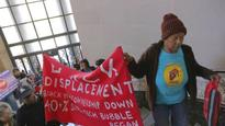 Oakland, Calif., activists occupy City Hall to protest gentrification