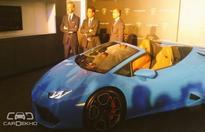 Lamborghini India Launches Huracan Spyder at Rs. 3.89 Crore
