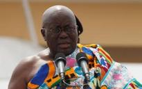 Ghana president accused of plagiarising speeches by George W Bush and Bill Clinton in his inaugural address