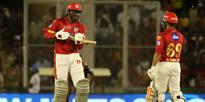 Live Cricket Scores: Gayle ton powers Punjab to 193/3 vs Hyderabad