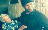 Denzel Washington stuns great-grandmother with surprise doorstep visit