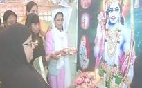Varanasi: Muslim women who performed Diwali arti slam Deoband seminary over fatwa