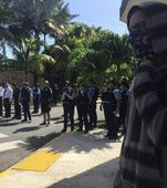 Charges Pressed Against Caribe Hilton Protesters