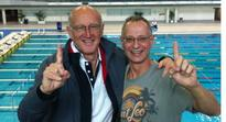 Catzel, Aaron master Oz swimming champs