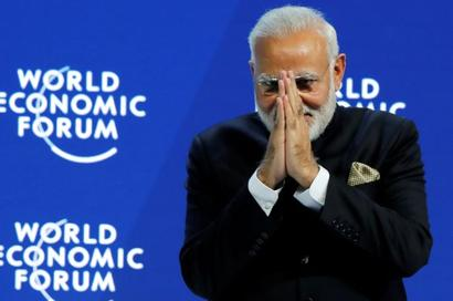 At Davos, Modi didn't say what the world wanted to hear
