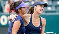 Sania Mirza-Martina Hingis fall in semis at WTA Finals