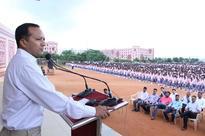 Navin Jindal Visits Kalinga Institute of Social Sciences