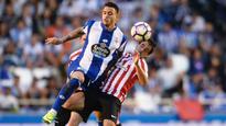 Athletic Bilbao's Raul Garci apologises to Joselu for injuring knee