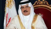 King of Bahrain visits Naama Bay