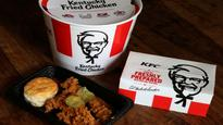 KFC to send chicken into space