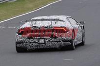 2018 Lamborghini Huracan Superleggera spotted before Geneva Motor Show debut