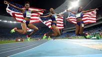 Rio Olympics 2016: American Brianna Rollins wins 'Sally Pearson's race'
