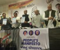 Congress' manifesto proposes alternate model of development for Gujarat
