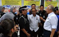 Najib visits Labuan