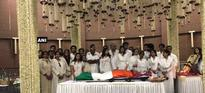 Mortal remains of Sridevi wrapped in tricolour, to be cremated with state honours