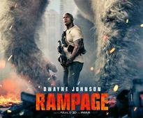 Review: `Rampage` Run-of-the-mill monster mayhem drama