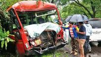 36 injured as two buses collide on Panchgani-Mahabaleshwar road