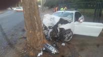 One killed, three injured in crash