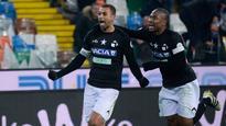 Danilo strike carries Udinse over Bologna late; Chievo-Genoa stalemate