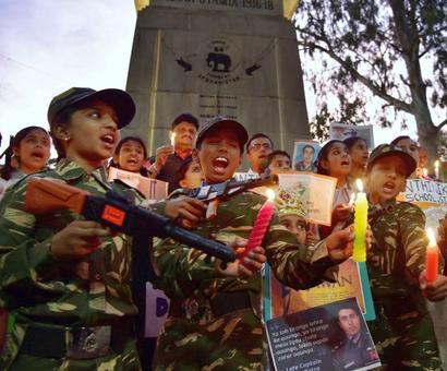 India honours its heroes on Kargil Diwas