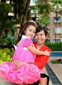 6-year-old Singaporean heads to Paris for beauty pageant