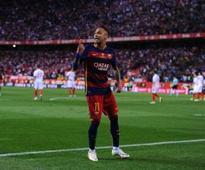 Neymar signs new Barcelona deal ending hopes of Man Utd transfer