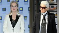'He lied': Meryl Streep hits back at Karl Lagerfeld for spoiling her record Oscar nom