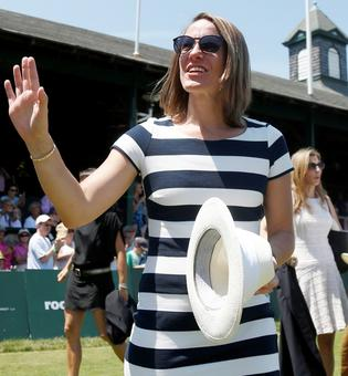 Henin, Safin inducted into Tennis Hall of Fame