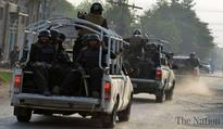Four TTP terrorist held with arms
