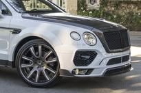 Mansory does its thing on the Bentley Bentayga
