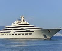 The fall of the Soviet Union caused a mega yacht boom in Russia