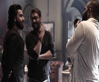 Ranveer Singh visits Rohit Shetty, Ajay Devgn on Golmaal Again sets; a film on the cards?