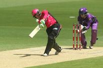 Sixers storm into final with 103-run win