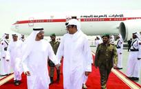 Prince of Qatar Discusses Regional, International Matters with Mohammed bin Zayed