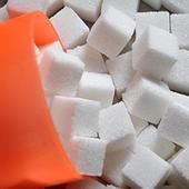 Sugar rises on firm cues
