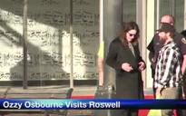 Ozzy Osbourne Visits UFO Crash Site In Roswell, New Mexico (Video)