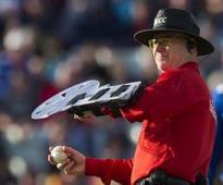 Umpire explains origins of 'Ox Block' shield