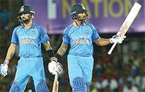 India open ODI series with crushing win