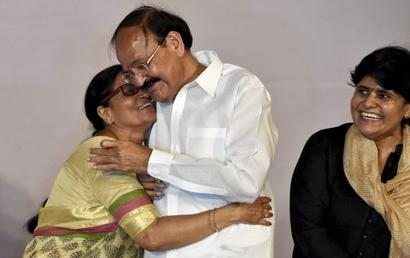 Naidu's journey from pasting party posters to being Vice President
