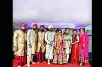 Soldiers and horses add a royal touch to Daljit Mehta and Ishita Thakkar's wedding in Mumbai